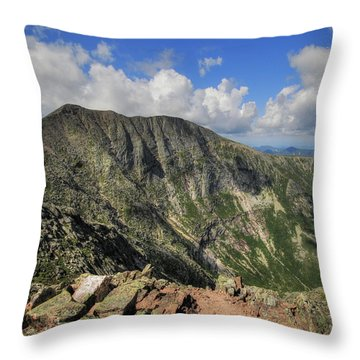 Baxter Peak Throw Pillow by Lori Deiter