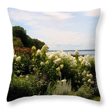 Bay View Bristol Rhode Island Throw Pillow
