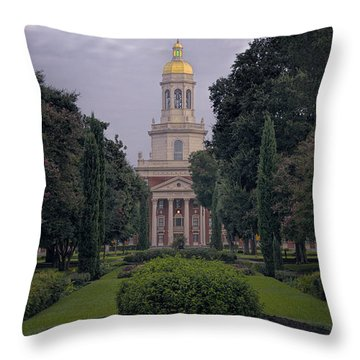 Baylor University Icon Throw Pillow