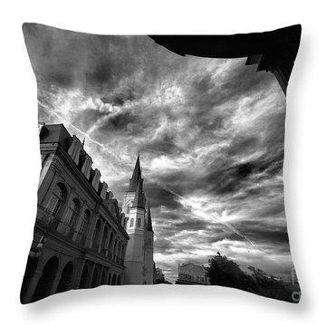 Bayou Beauty Throw Pillow by Robert McCubbin