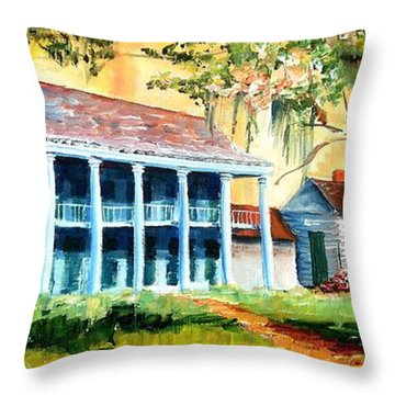 Bayou Country Throw Pillow by Diane Millsap