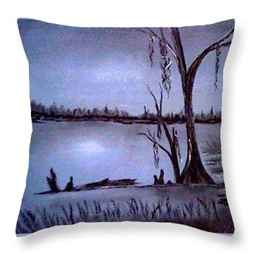 Bayou Dreams Throw Pillow