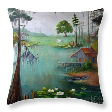 Bayou Living  Throw Pillow
