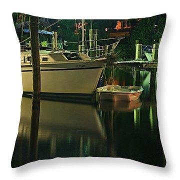Bayou Reflect Throw Pillow