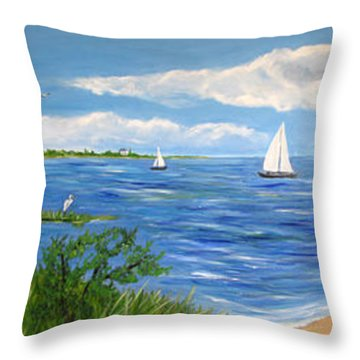 Bayville Trio Throw Pillow