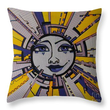 Bazinga - Sun Throw Pillow