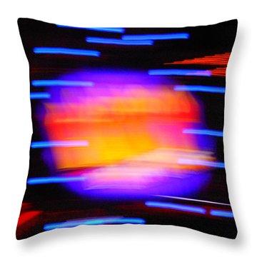 Super Nova Throw Pillow