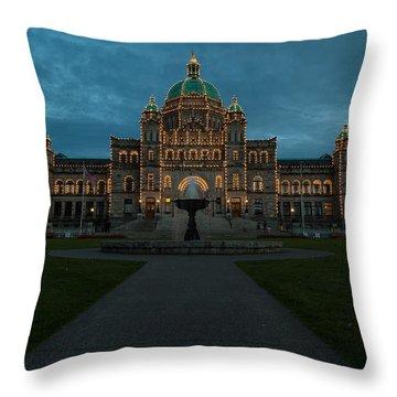 Victoria Bc Throw Pillows