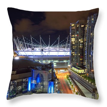Bc Place  Throw Pillow by Kathy King