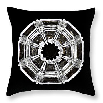 Bcpa Abstract Throw Pillow by Jim Finch