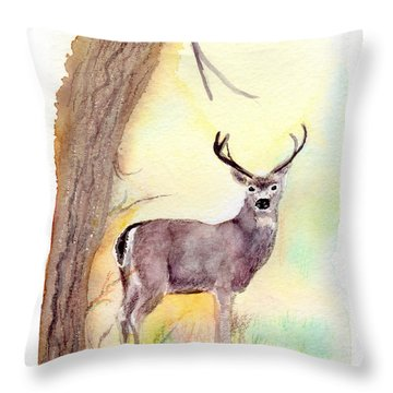 Be A Dear Throw Pillow