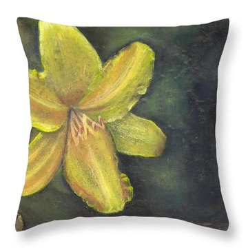 'be A Lily Among Thorns' Throw Pillow