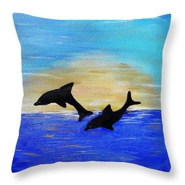 Be Joyful In Hope Throw Pillow