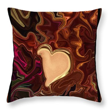 Be Mine By Steven Langston Throw Pillow by Steven Lebron Langston