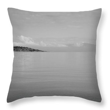 Be Still My Ocean  Throw Pillow
