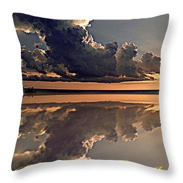 Be The Rainbow Throw Pillow