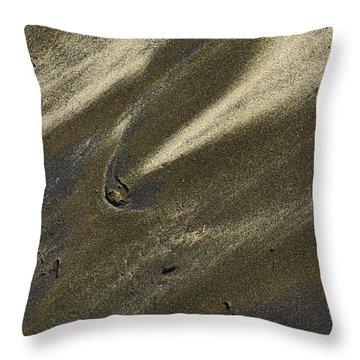 Beach Abstract 18 Throw Pillow