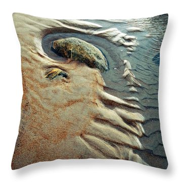 Beach Dreaming  Lll Throw Pillow