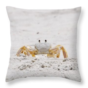 Beach Guard Throw Pillow