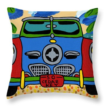 Beach Studebaker Throw Pillow