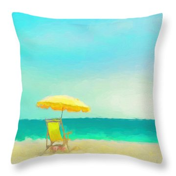 Got Beach? Throw Pillow