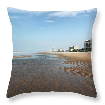 Beach Vista Throw Pillow