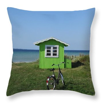 Beachhouse7 Throw Pillow