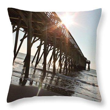 Beach's Beauty Throw Pillow
