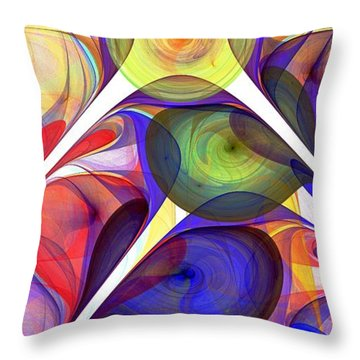 Beacon Throw Pillow by Anastasiya Malakhova