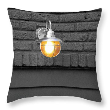 Throw Pillow featuring the photograph Beacon by Rodney Lee Williams