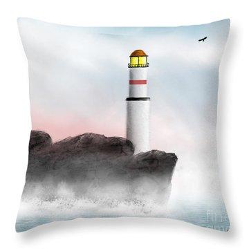 Beacon Throw Pillow by Thomas OGrady