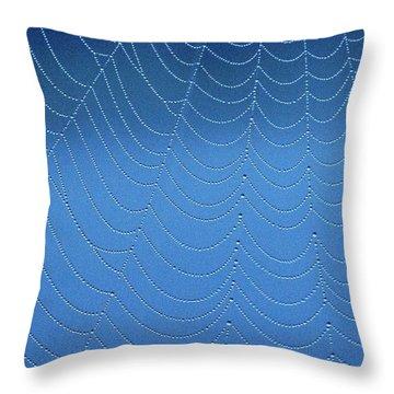 Beaded Lacework Throw Pillow