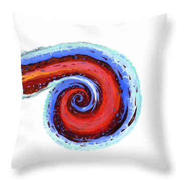 Beam Me Up Scotty Throw Pillow