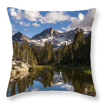 Bear Creek Spire Throw Pillow by Joe Doherty