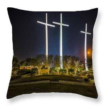Bearing Witness Throw Pillow