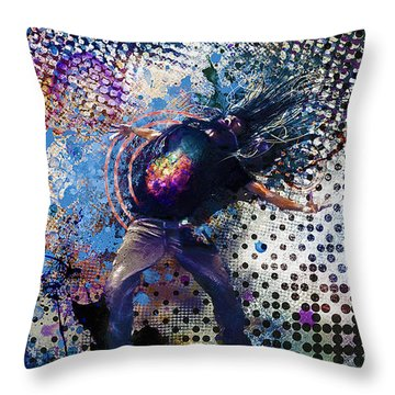 Beastmode On Throw Pillow