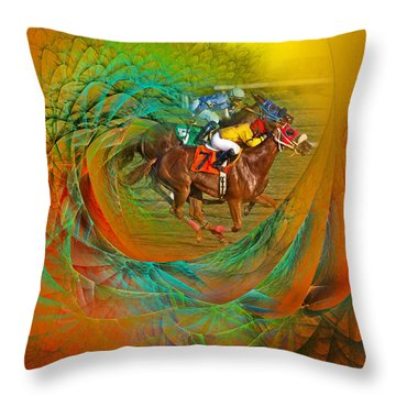Beating The Equation  Throw Pillow
