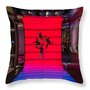 Throw Pillow featuring the photograph Beatles Love by Glenn DiPaola