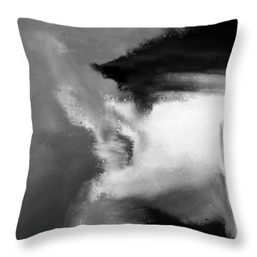 Beau Bella Sexy Smoke Throw Pillow by Sir Josef - Social Critic - ART