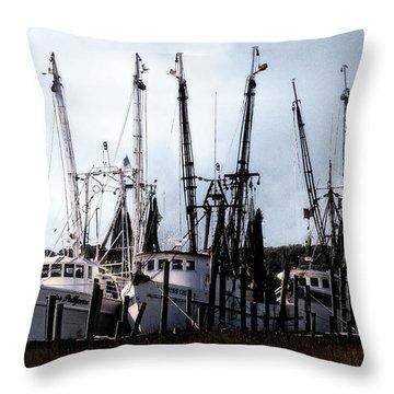 Beaufort Fleet Throw Pillow