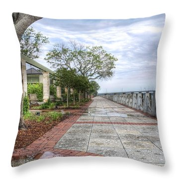 Beaufort - Sea Wall Throw Pillow