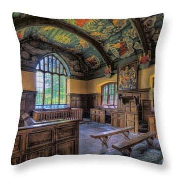 Beautiful 17th Century Chapel Throw Pillow