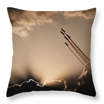 Throw Pillow featuring the photograph Beautiful 5 by Paul Job