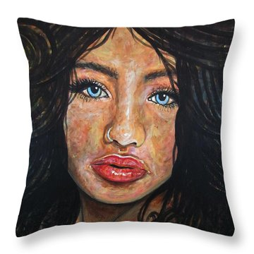 Beautiful Ambiguity Throw Pillow