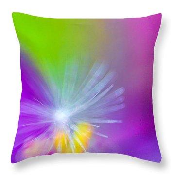 Beautiful Blur Throw Pillow