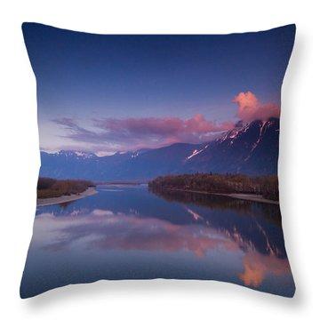 Beautiful British Columbia Throw Pillow by Eti Reid