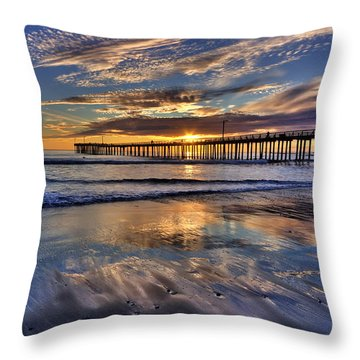 Beautiful Cayucos Throw Pillow