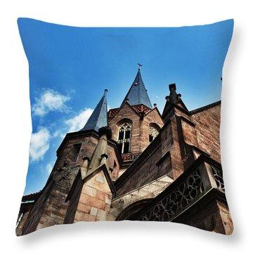 Beautiful Church  Throw Pillow by Daniel Precht