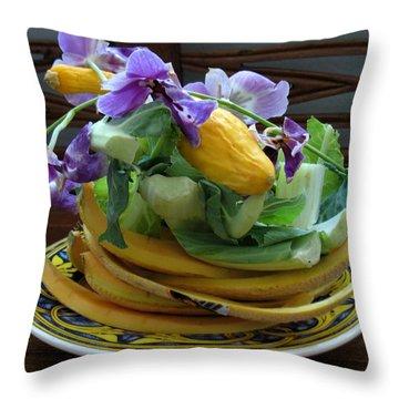 Beautiful Compost Throw Pillow