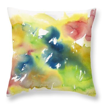 Beautiful Dancer Throw Pillow